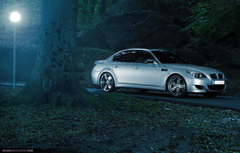 BMW M5 E60 - The Dark Forests by dejz0r on DeviantArt