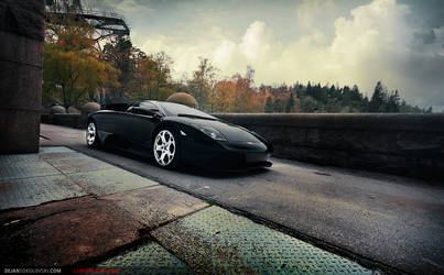 Lambo LP640 - By the fortress by dejz0r
