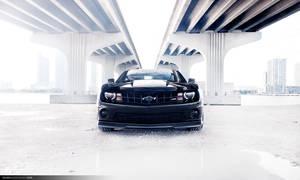 Camaro SS - Under bridge