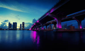 Mcarthurs Bridge Miami