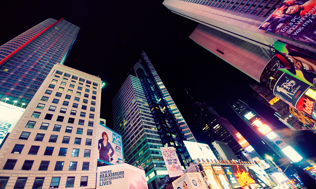 Times Square by dejz0r