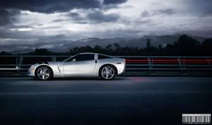 Corvette striped