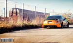By the train yard