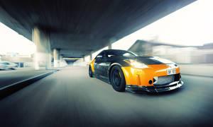 350Z racing by dejz0r