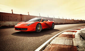 Ferrari 458 by the tracks 1 by dejz0r