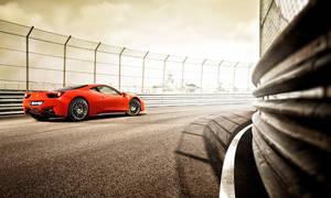 Ferrari 458 by the tracks 1