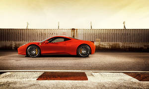 Ferrari 458 by the tracks 3