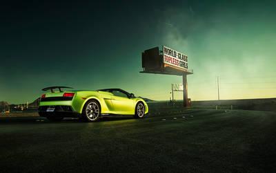 Lamborghini - Zombie Strippers! by dejz0r