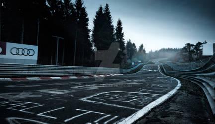 Nurburgring race track