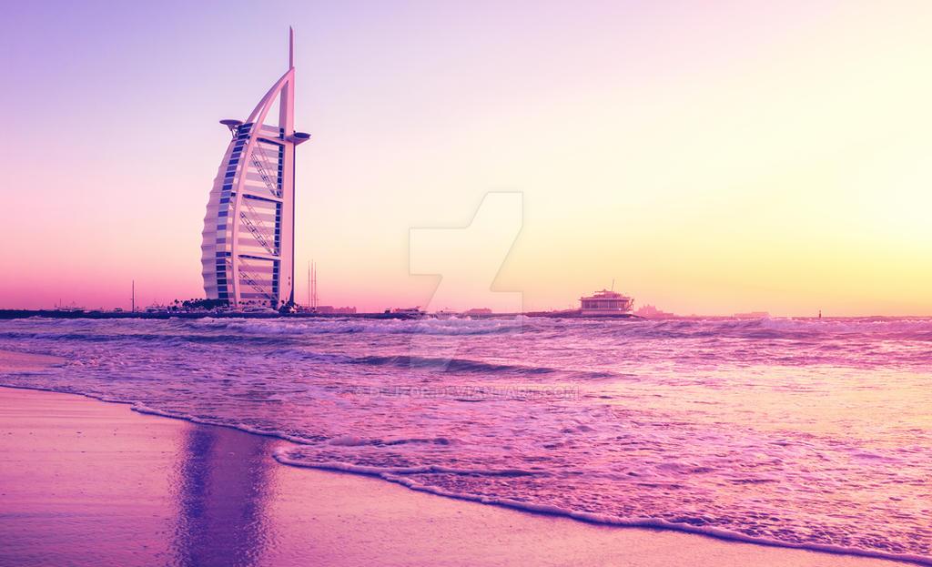 Burj al Arab Dubai by dejz0r