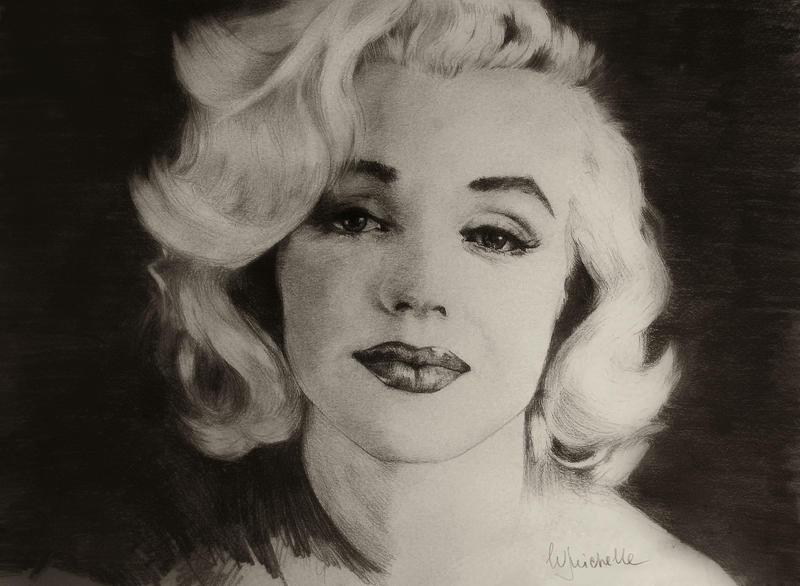 Marilyn Monroe by Michelle-Winer
