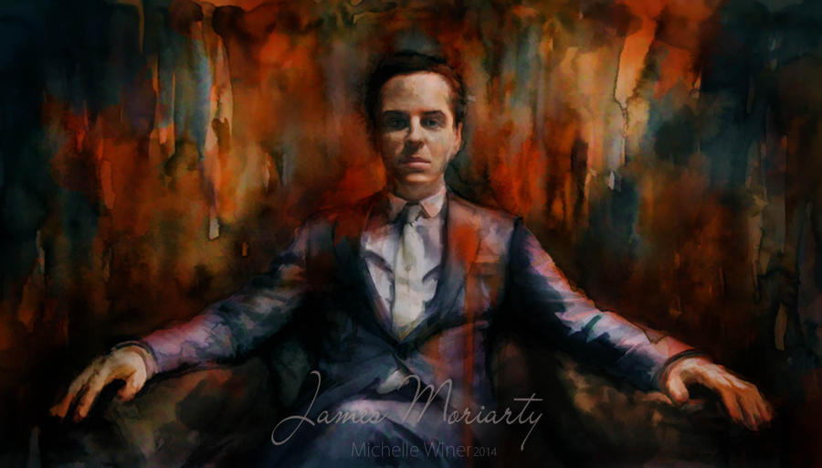 James Moriarty *King* by Michelle-Winer