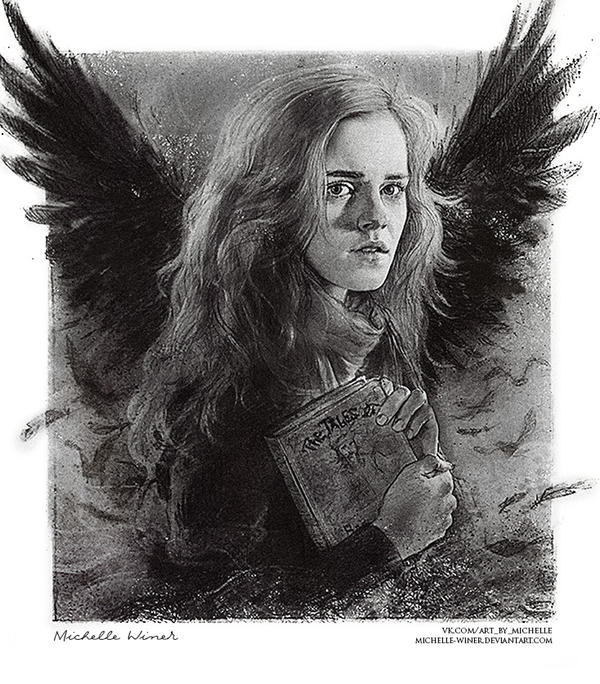 Hermione Granger and The Tale of the Three Brother by Michelle-Winer