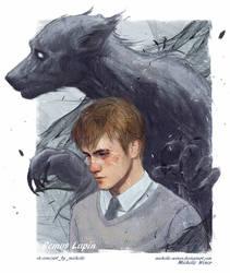 Remus Lupin / Werewolf by Michelle-Winer