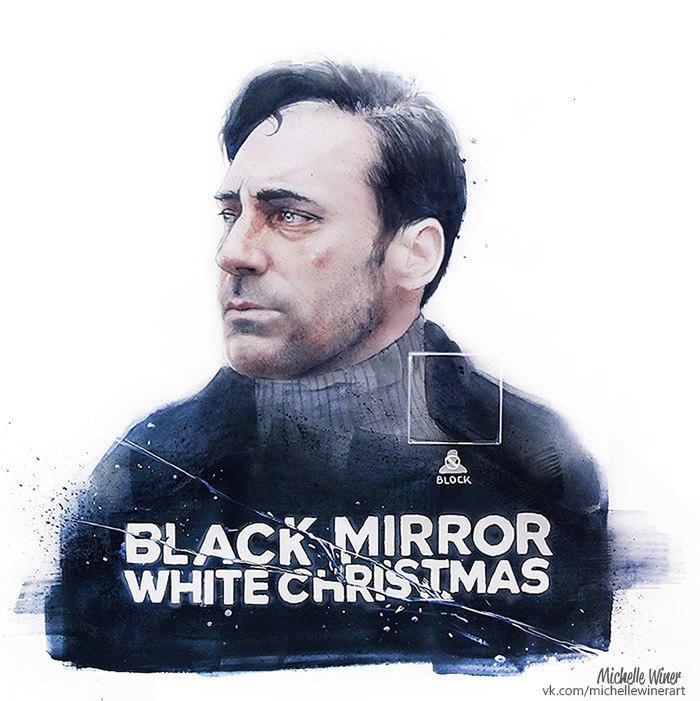 White Christmas Black Mirror Poster.Black Mirror White Christmas By Michelle Winer On Deviantart