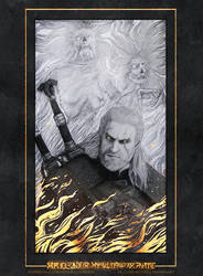 Geralt of Rivia by Michelle-Winer