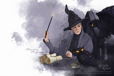 Minerva McGonagall by Michelle-Winer