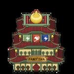 Fairy Tail Guild Building Tile