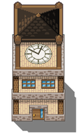 Clock Tower Tile