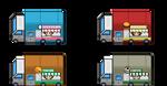 Food Trucks Tiles.