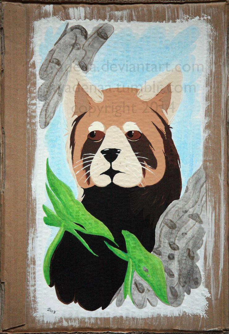 IB Red Panda by Avadena