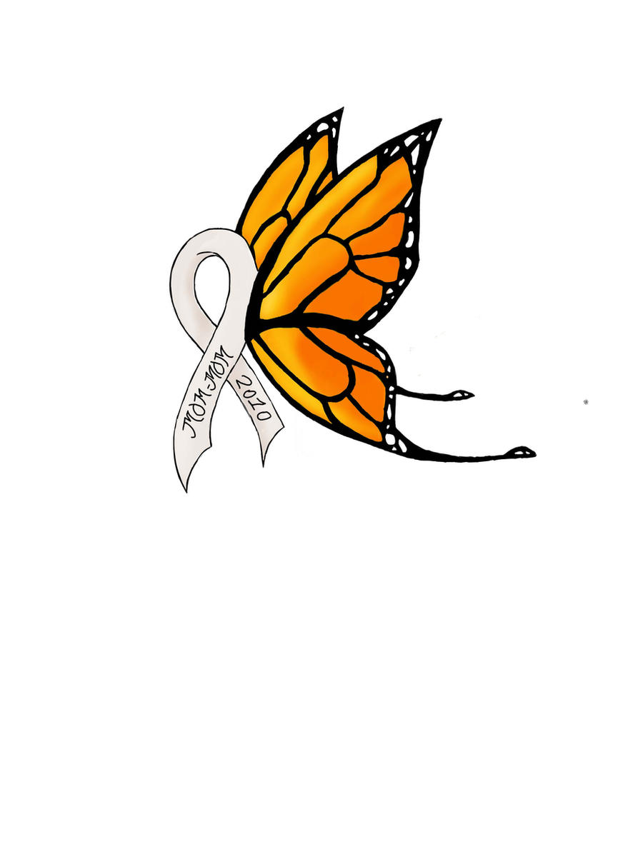Lung Cancer Ribbons Tattoos