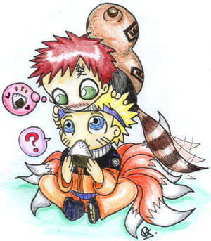Gaara wants some onigiri...