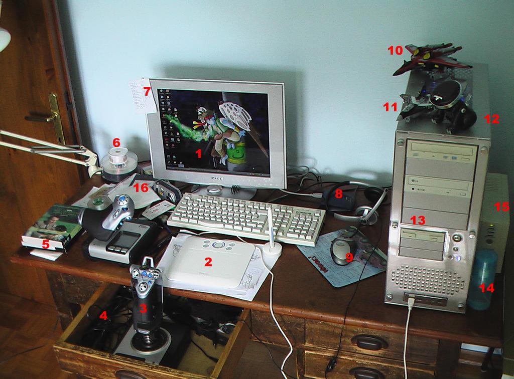 My desktop. Yeah. by AltairSky