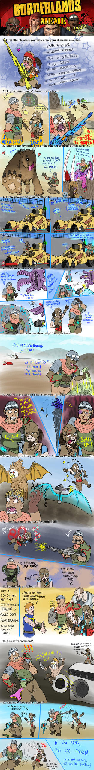 Borderlands awesome MEME by AltairSky