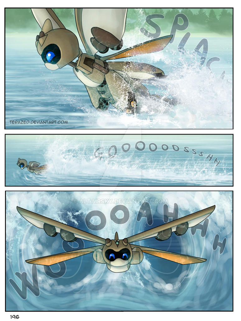 page 196 - Stickybeak - Suzumega Medabot by AltairSky