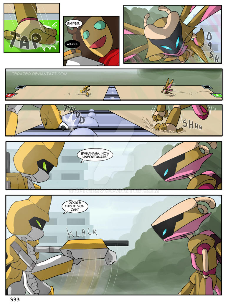 medabot webcomic 600 pages and still going