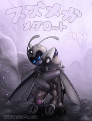 Suzumega Medabot Webcomic - Season 2 Cover by AltairSky
