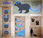 Sumea Reference Sheet by AltairSky