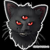 Damian the Demon Cat
