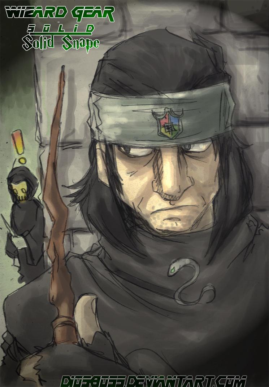 Wizard Gear:Snake Eater by SeventhBoss