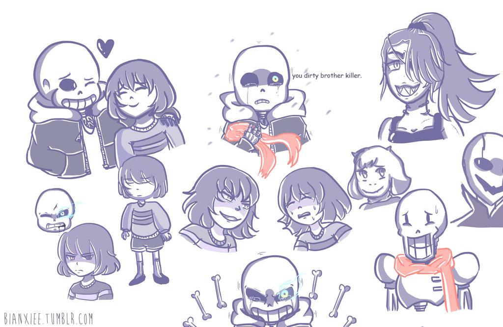 [Undertale] Doodle 0.3 By Bianxiee On DeviantArt
