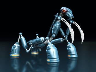 Mantis Bot II by loth