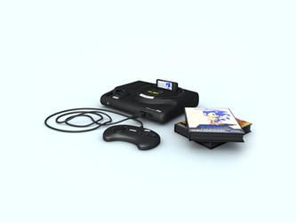 Sega Mega Drive by loth