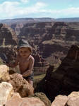 The boy and the canyon