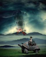 Refugees of eruption by ejkej0046