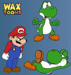 Yoshi Trouble by WaxToons