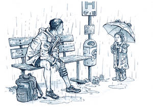 The advantage of possessing an umbrella