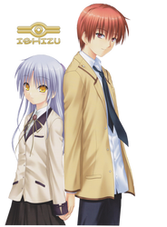 Kanade And Yusuru By Pccinu-d81col6 by pccinu