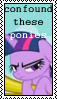 Confound These Ponies Twilight by marienoire