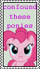 Confound These Ponies Pinkie by marienoire