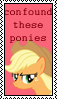 Confound These Ponies Applejac by marienoire
