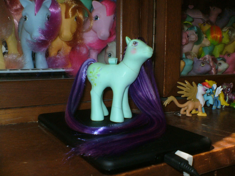 Custom MLP : Alternate Rehair Morning Glory DS by marienoire