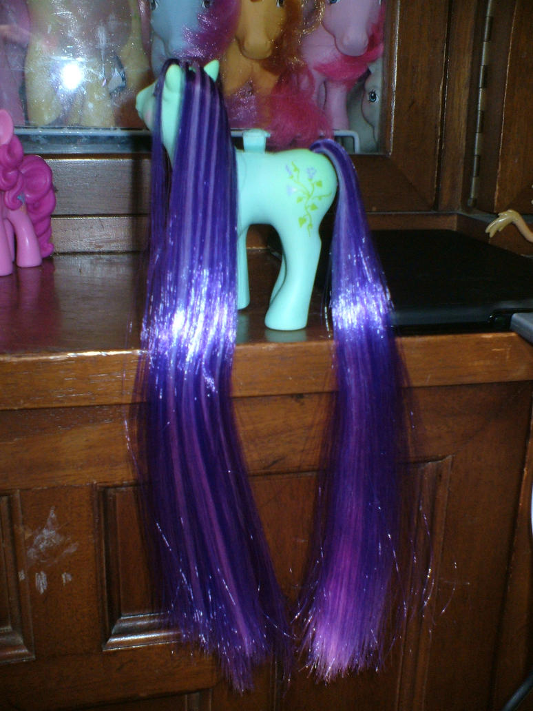 Custom MLP : Alternate Rehair Morning Glory NDS by marienoire