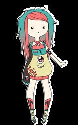 Custom 7 - The All-seeing Monster. by Aka-Yuuki