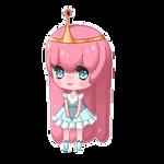 Pixel Page Doll- Princess Bubblegum by Aka-Yuuki